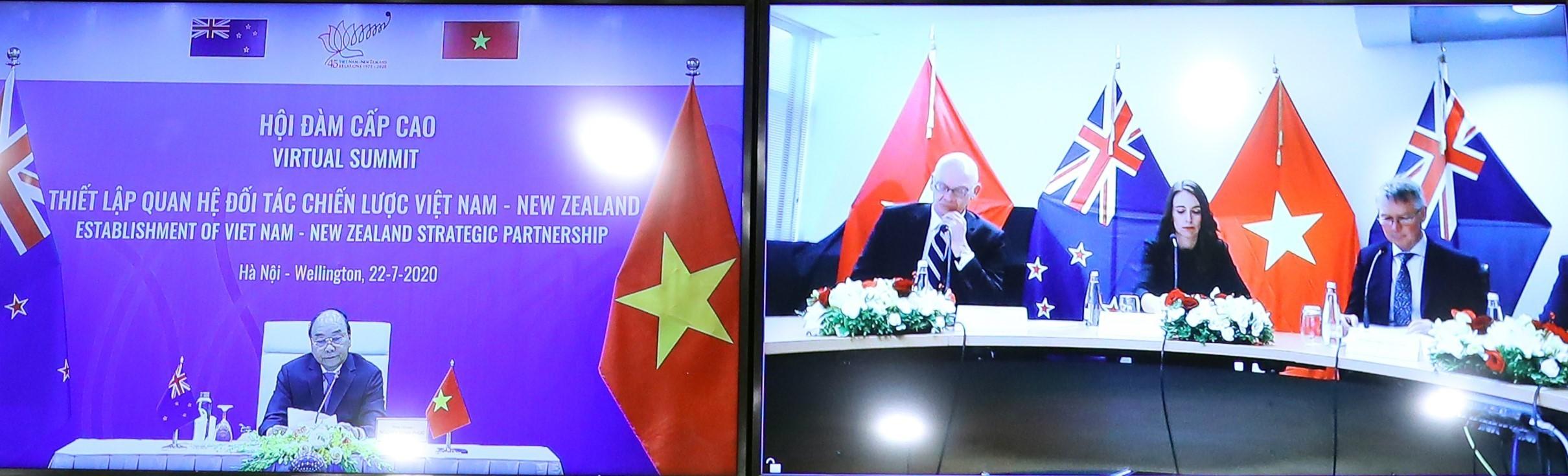 Vietnam, New Zealand elevate ties to strategic partnership