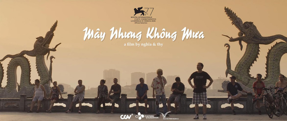 A poster of Vietnamese short film 'May nhung khong mua' (Live in Cloud - Cuckoo Land). Photo: CJ