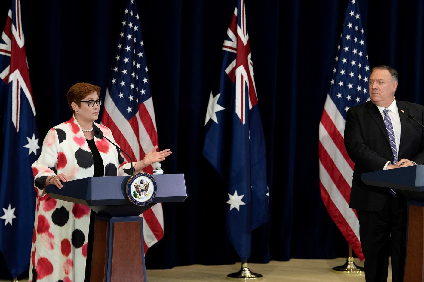 Australia's pushback against China's grey zone tactic