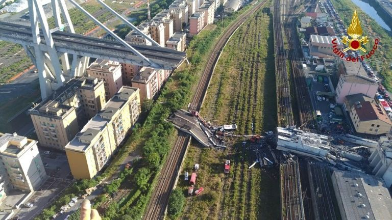 Italy inaugurates new Genoa bridge after deadly collapse
