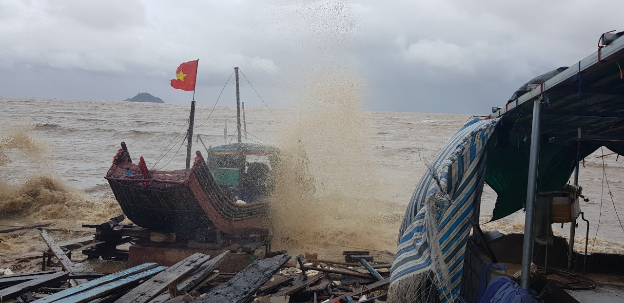 Storm Sinluka downgraded to tropical depression after landfall in north-central Vietnam
