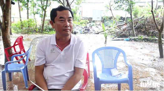 Nguyen Ngoc Thuan, 51, the alleged mastermind behind the illegal, large-scale gambling ring busted in An Giang Province on August 2, 2020, is seen in a photo supplied by the police.