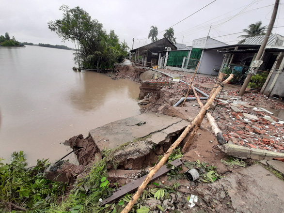 Gusts damage over 200 houses in Vietnam's Mekong Delta