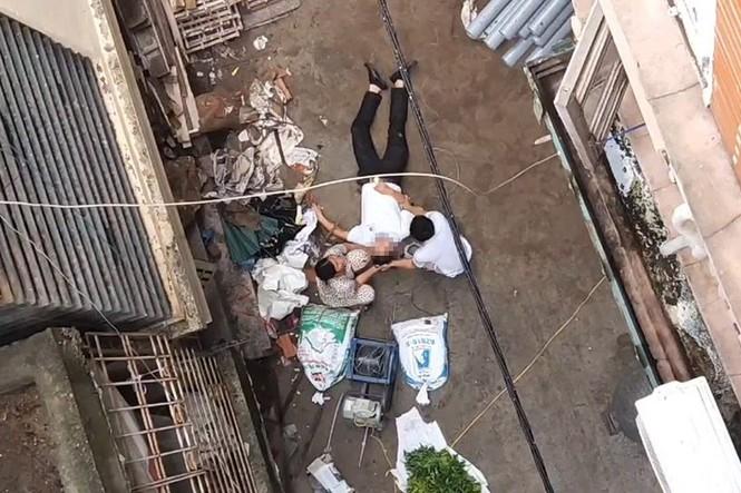 Hanoi man suffers memory loss after hit by falling wheelbarrow