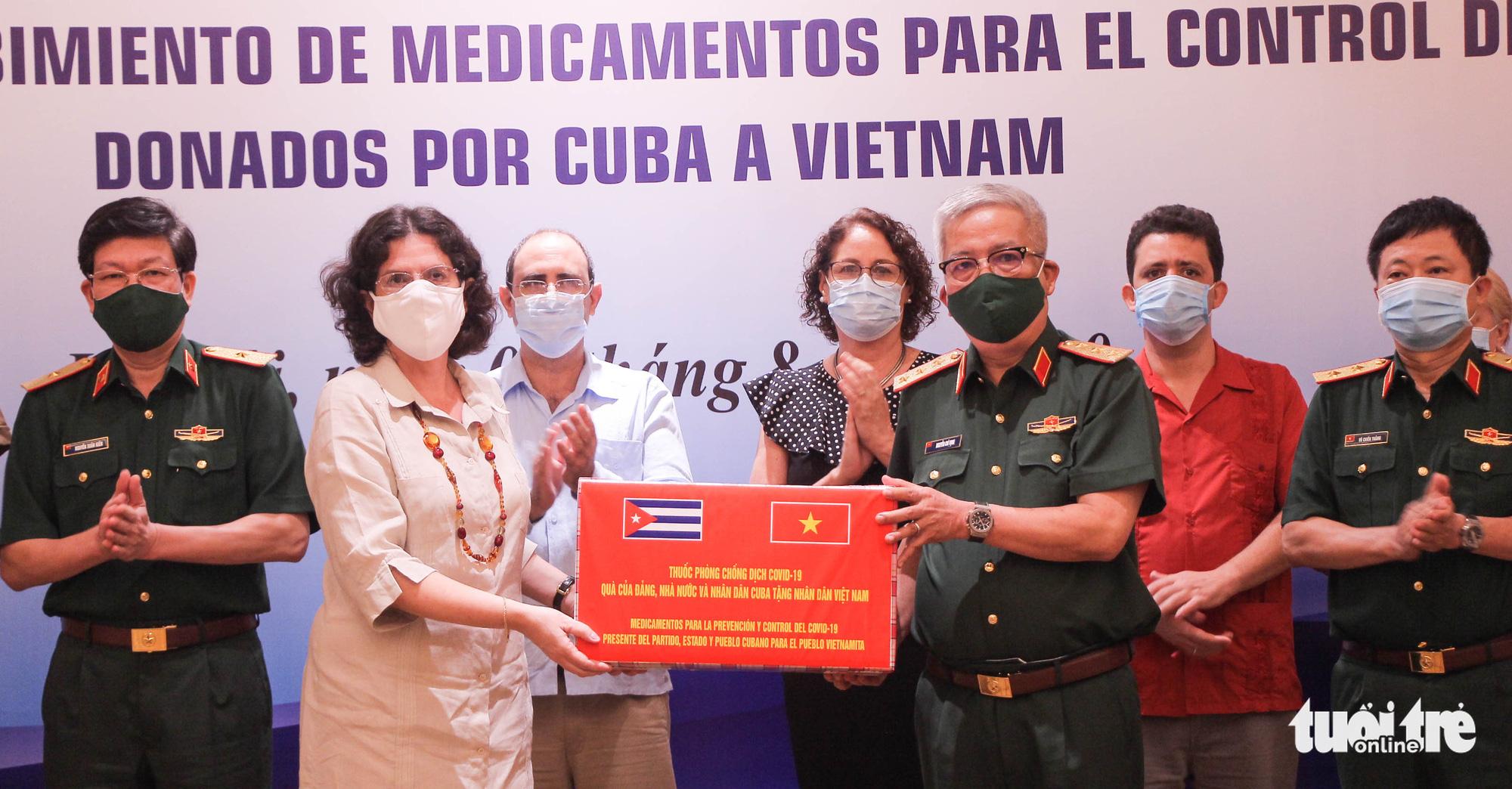 Cuba sends medicine, health experts to Vietnam for COVID-19 fight