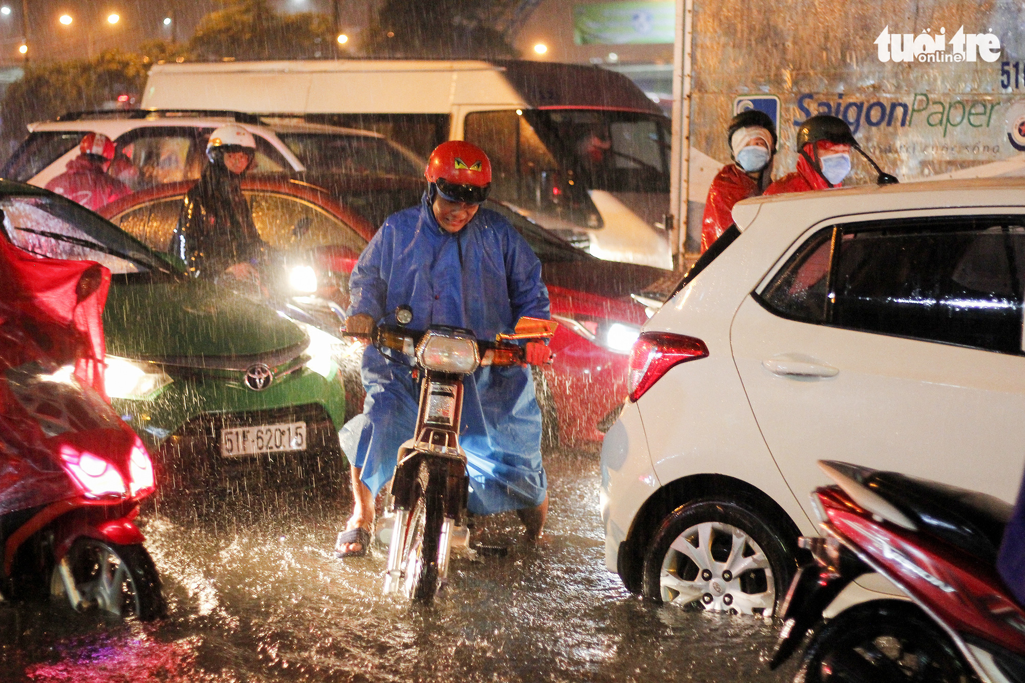 Historic downpour sinks many parts of Ho Chi Minh City