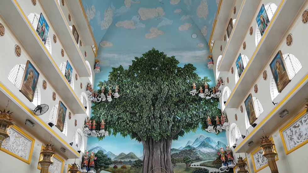 Van Duc Temple in Thu Duc District, Ho Chi Minh City, Vietnam. Photo: Pil Nguyen