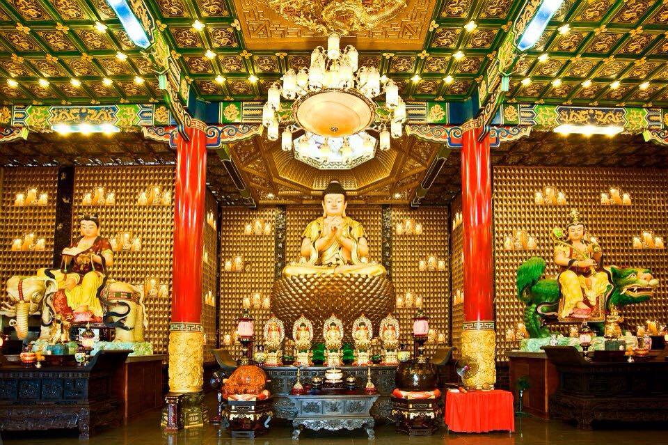 Van Phat Temple in District 5, Ho Chi Minh City, Vietnam. Photo: Pil Nguyen