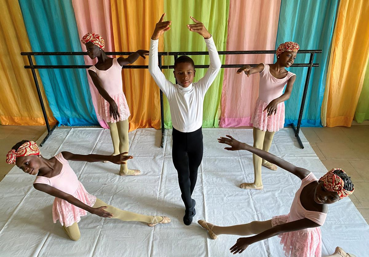 Leap of faith: Nigerian boy captivates the world with his ballet