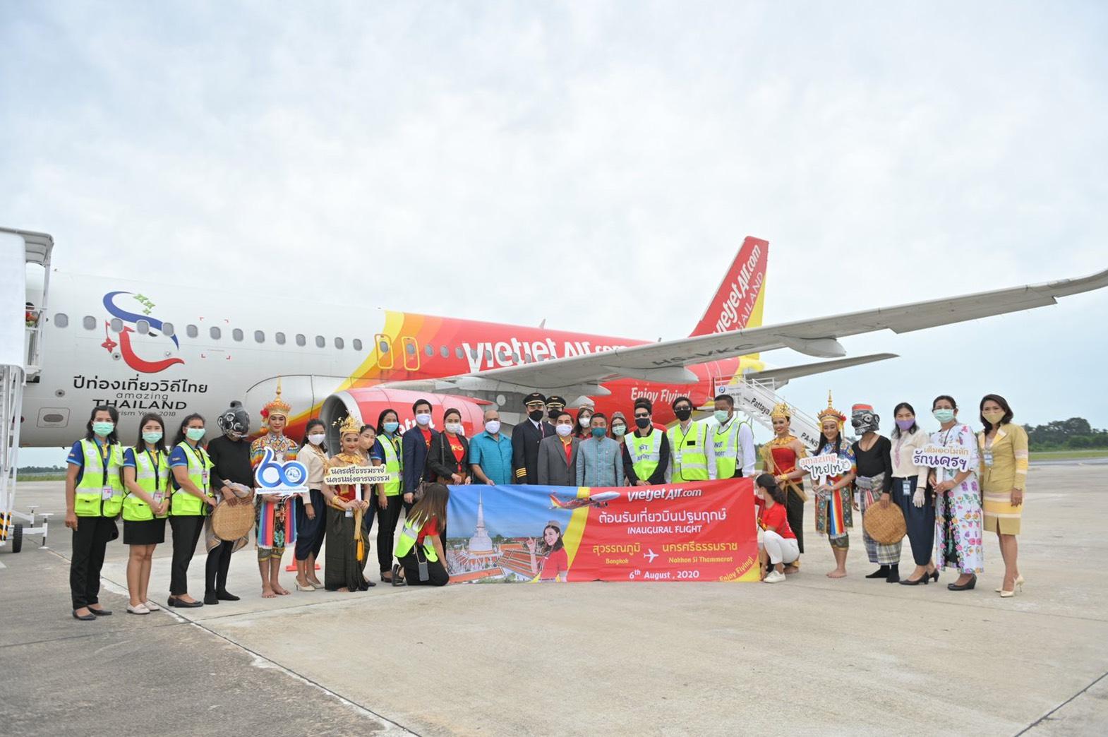 Thai Vietjet commences 10th domestic service in Thailand, linking Bangkok and Nakhon Si Thammarat