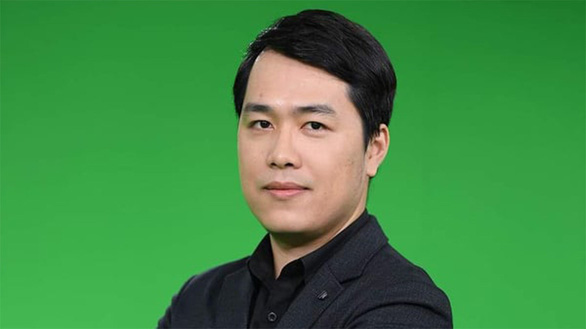 This supplied photo shows Tran Viet Hai, who is in charge of the project to develop the Bluezone app.