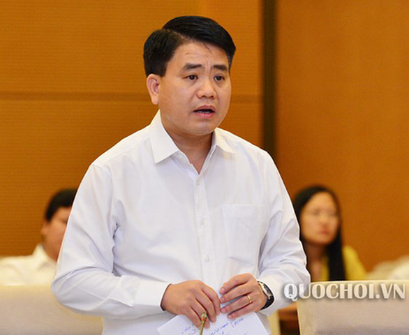 Hanoi chairman Nguyen Duc Chung suspended from work