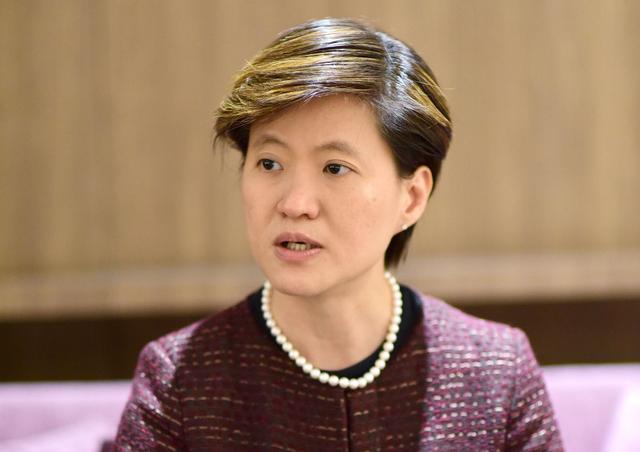 This file image shows Singapore Ambassador to Vietnam Catherine Wong. Photo: Quang Dinh / Tuoi Tre