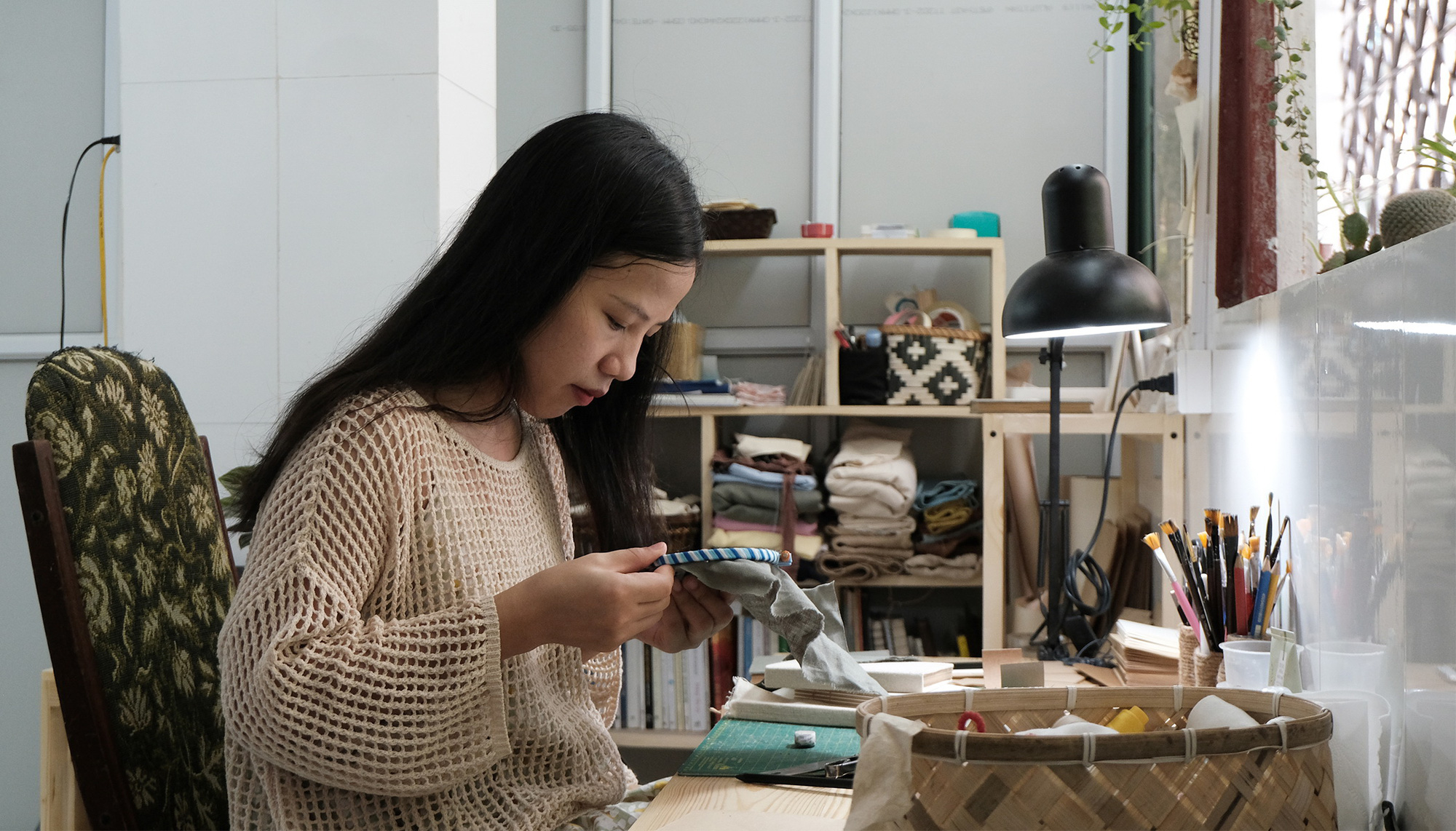 Vietnamese woman launches leaf-based startup