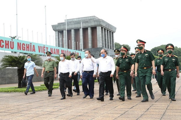 President Ho Chi Minh Mausoleum in Hanoi reopens fromSaturday