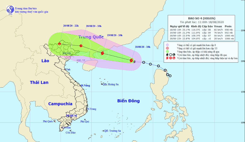 Tropical depression develops into storm in East Vietnam Sea