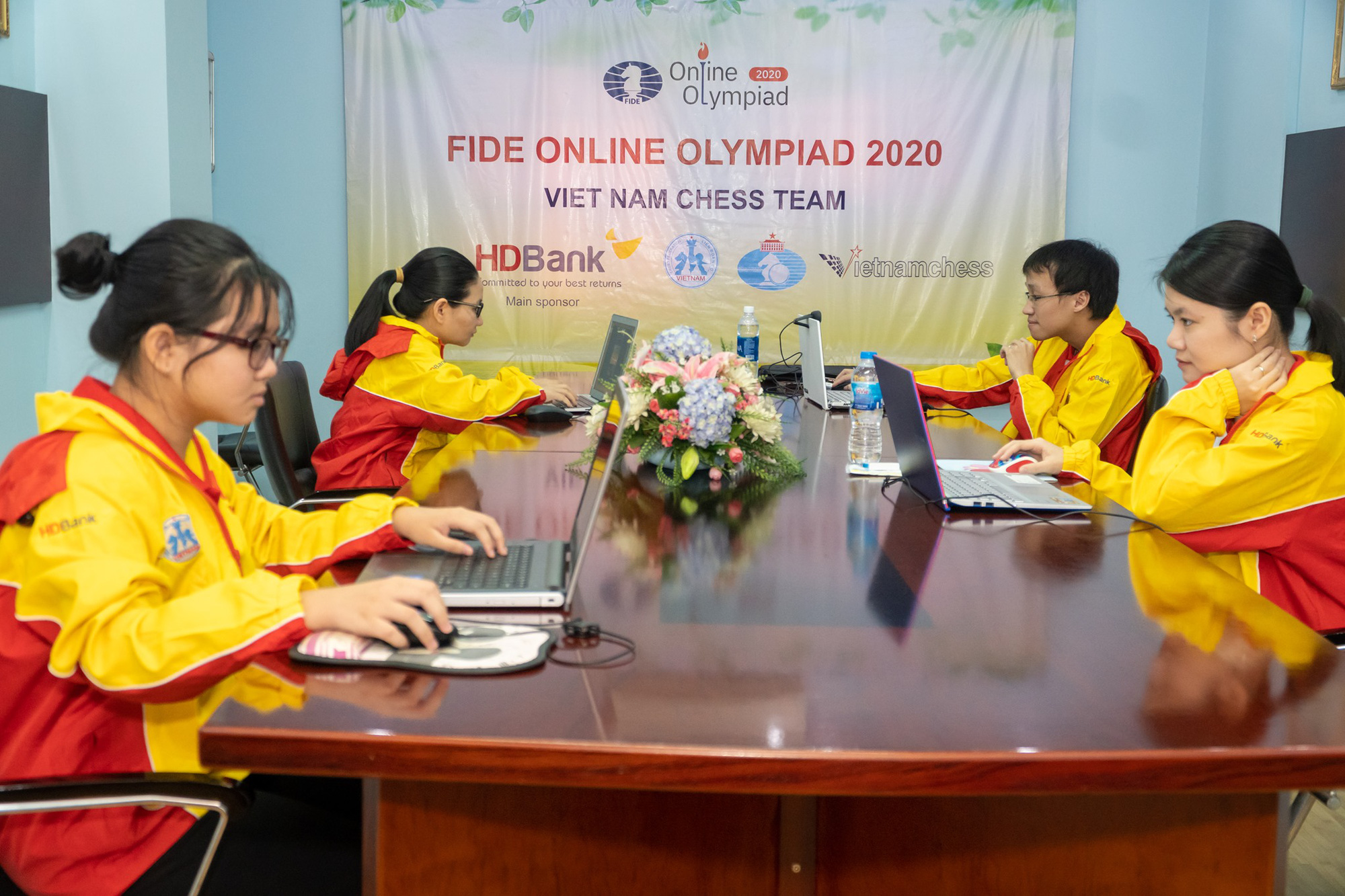 Vietnam eliminated early from online chess Olympiad 2020