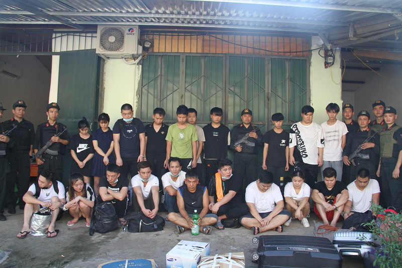 21 wanted Chinese arrested in northern Vietnam