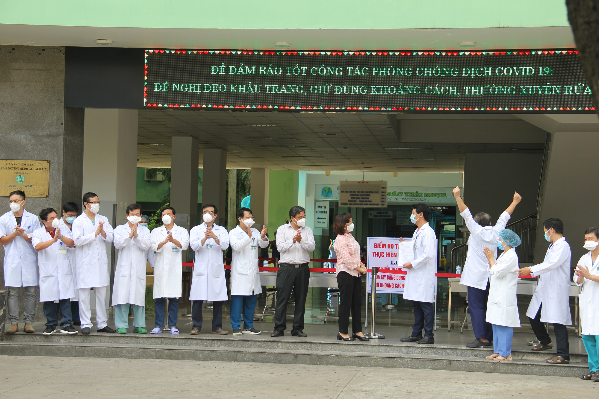 Da Nang lifts lockdown on major hospital as COVID-19 cluster under control