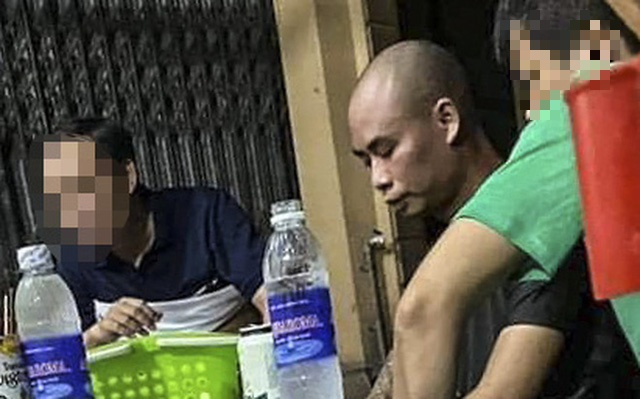 Nong Van Tu in this photo provided by police officers.