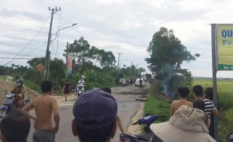 Vietnam woman killed in explosion allegedly caused by wartime shell
