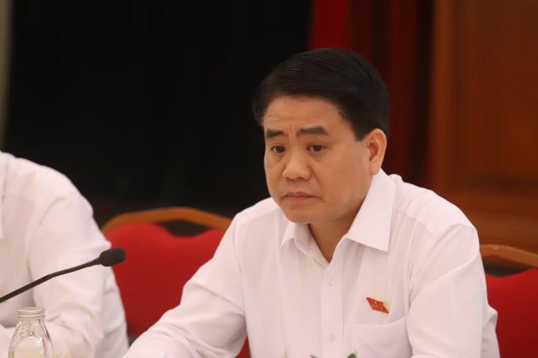 Hanoi chairman Nguyen Duc Chung arrested