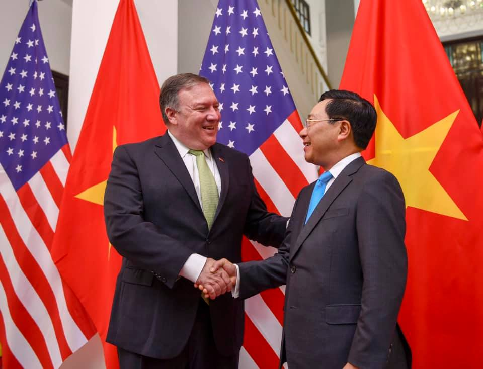 US Secretary of State Pompeo congratulates Vietnam on National Day