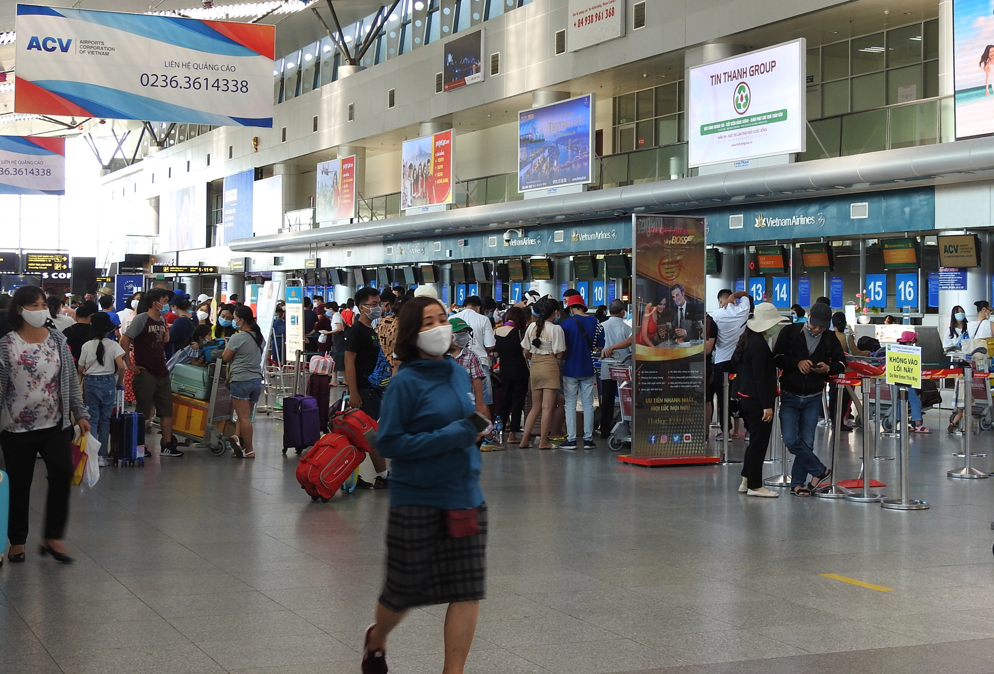 Authorities propose resumption of passenger transport to, from Da Nang