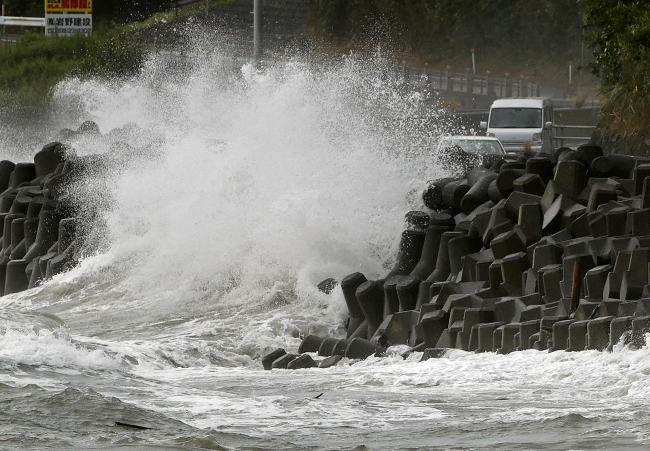 Typhoon Haishen heads toward Korea after battering Japan