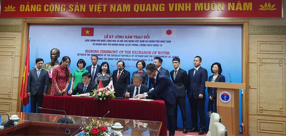 Japan grants Vietnam $18.8mn for COVID-19 combat