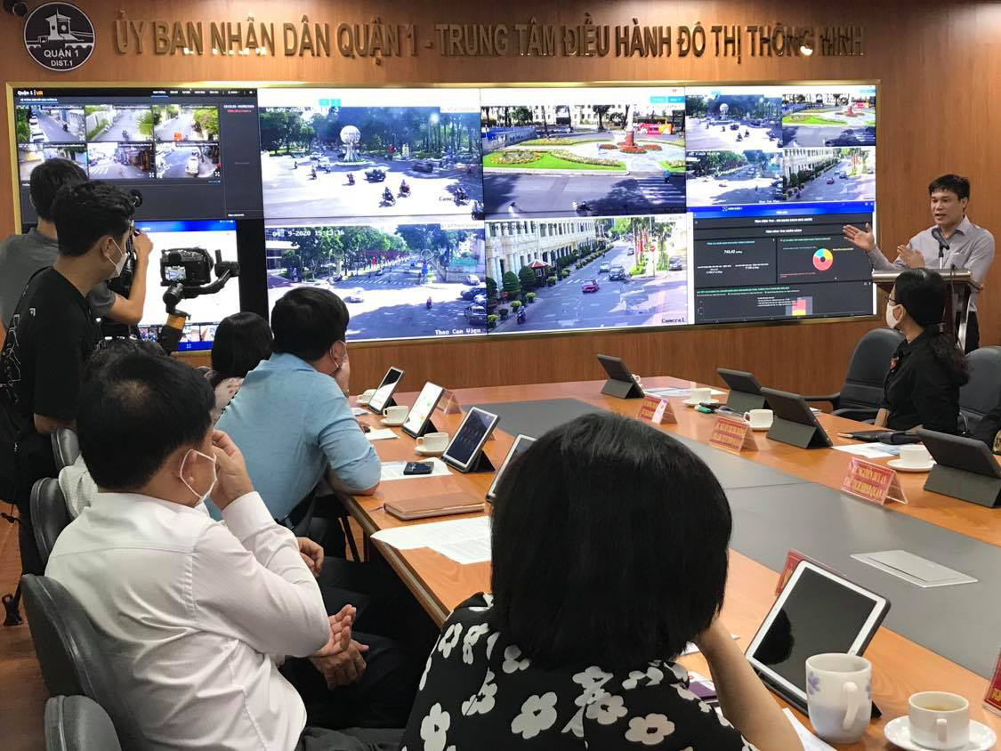 Saigon's District 1 pilots upgraded smart-city management model