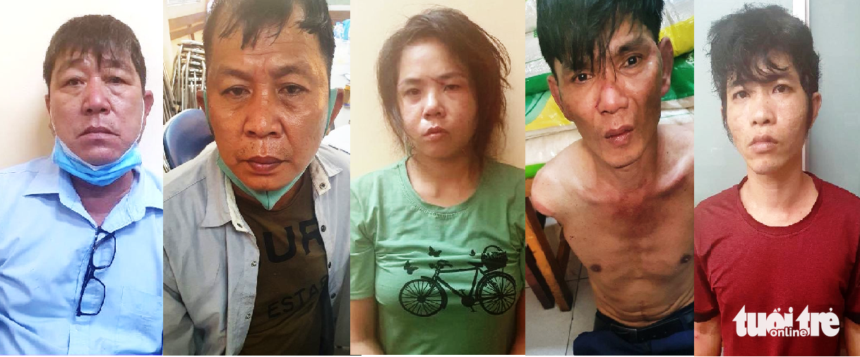 Five arrested for staging road accidents to steal from victims in Saigon