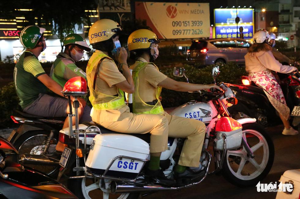 All-female police squad patrols Saigon streets at night