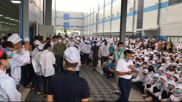Vietnamese AirPods maker pledges to address workers' demands after strike