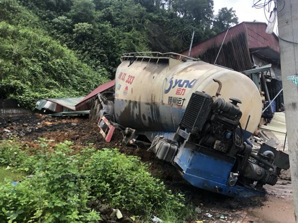 Landslide-triggered house collapse kills boy in northern Vietnam
