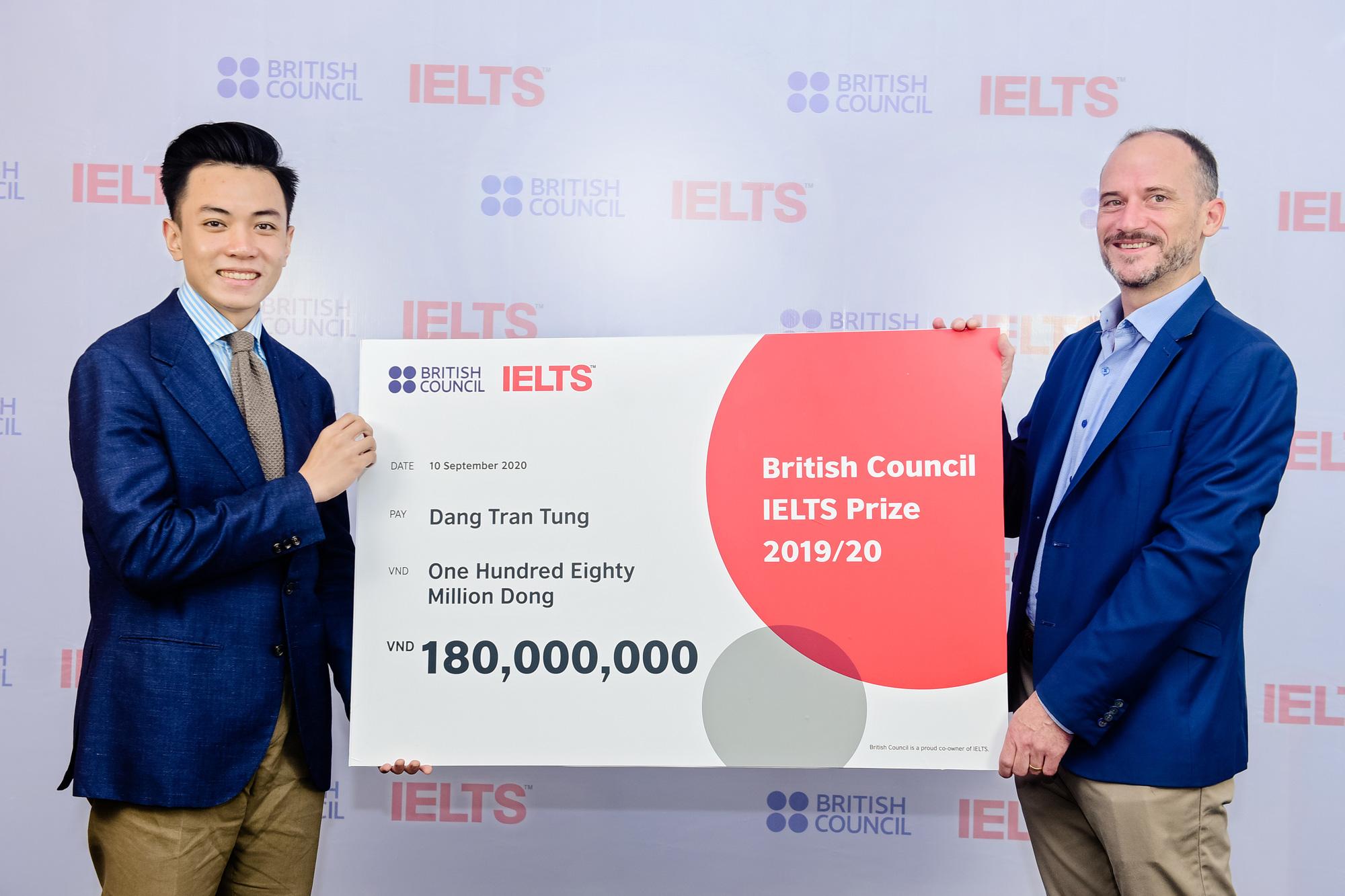 Three Vietnamese among IELTS Prize winners of 2019-20