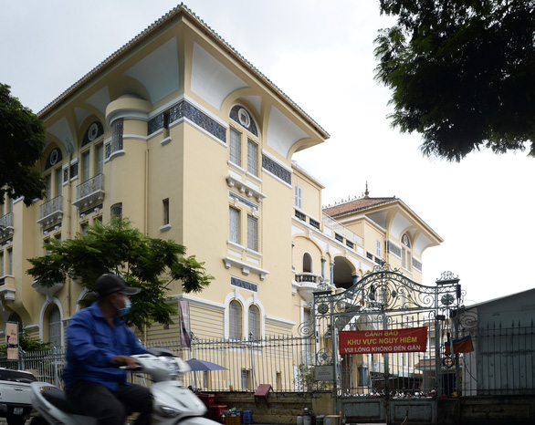 Saigon art museum seeks help over subsidence