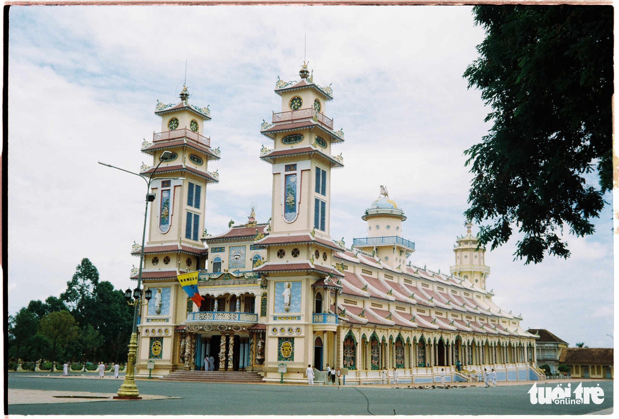 Largest holy building of Caodaism in Vietnam boasts unique architecture
