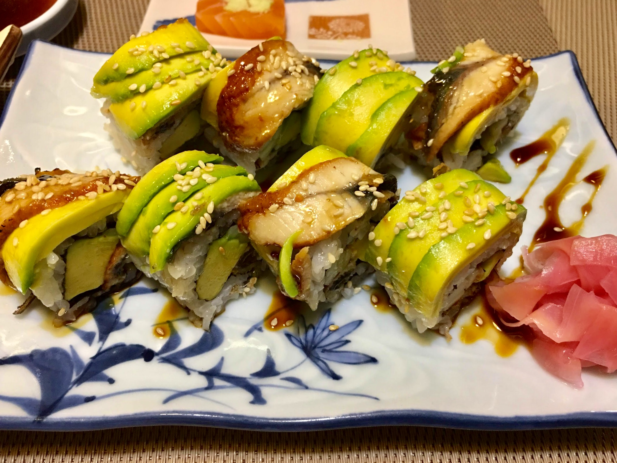 A file photo showing avocados being used in a maki sushi dish at a restaurant in Ho Chi Minh City. Photo: Dong Nguyen/ Tuoi Tre News
