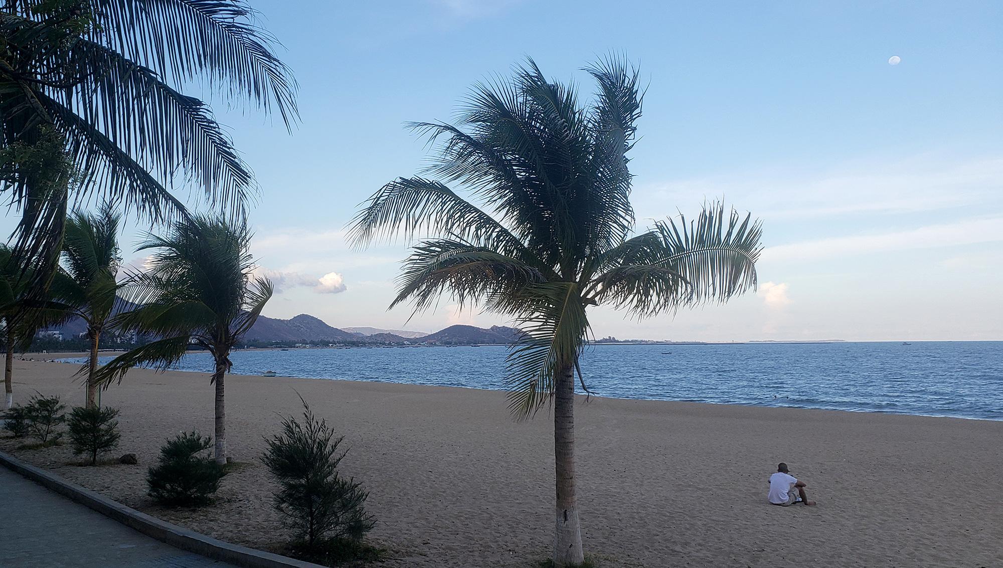 A snapshot of Ninh Chu Beach in Ninh Thuan Province, Vietnam. Photo: Gia Tien / Tuoi Tre