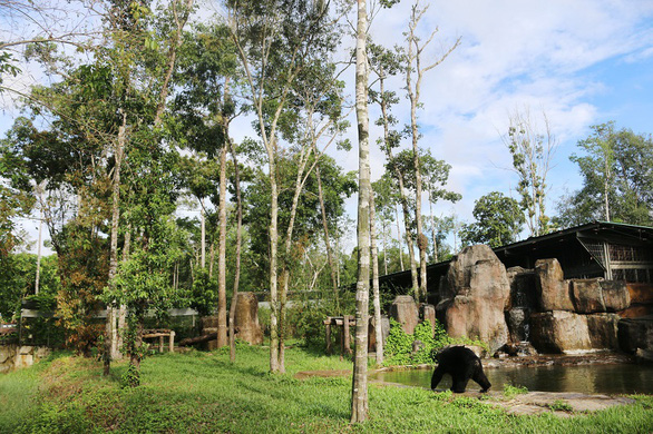 A snapshot of Vinpearl Safari Phu Quoc is seen in this supplied photo.