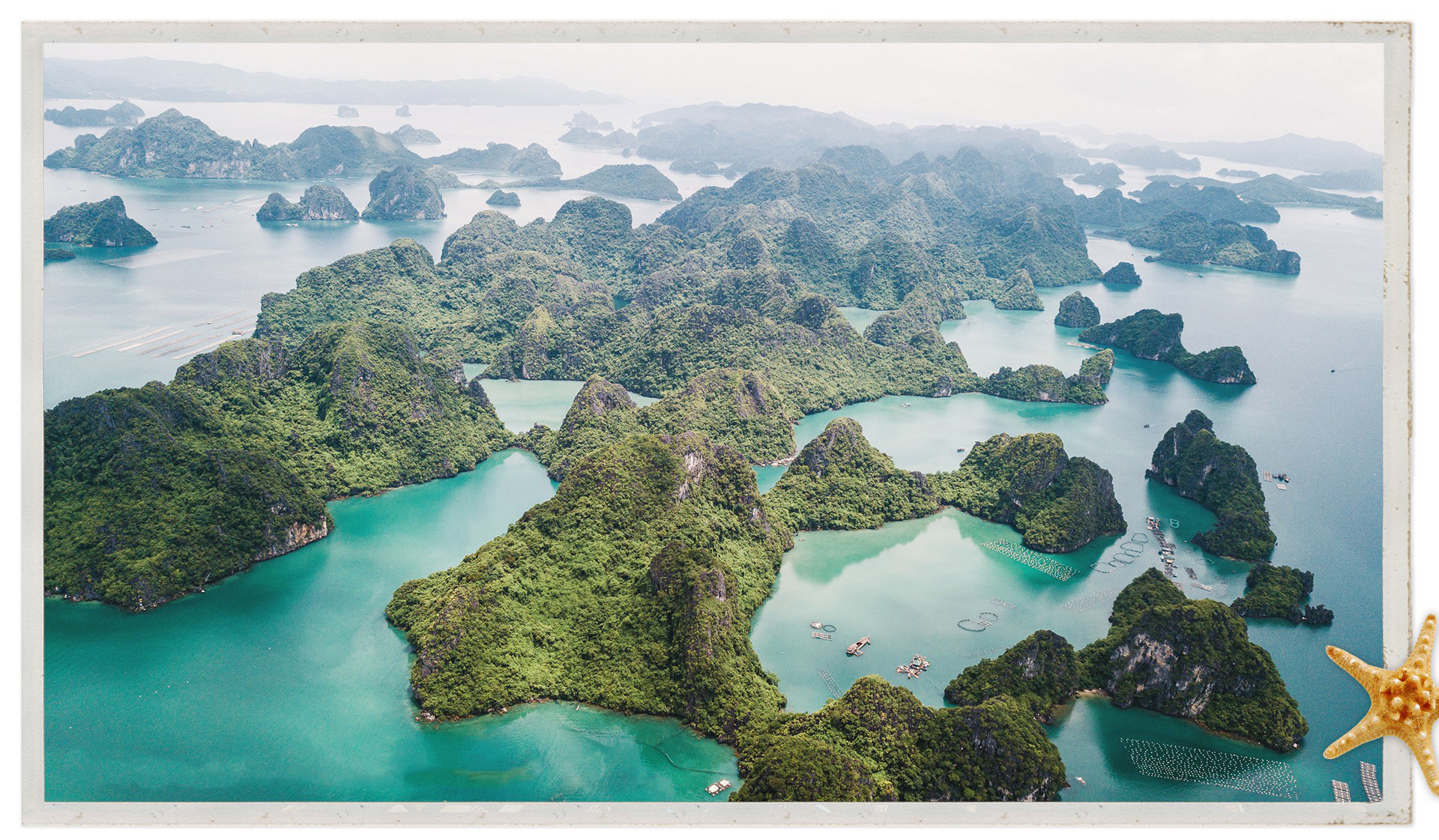 An aerial view of Bai Tu Long Bay in Van Don District, Quang Ninh Province, Vietnam. Photo: Nguyen Khanh / Tuoi Tre