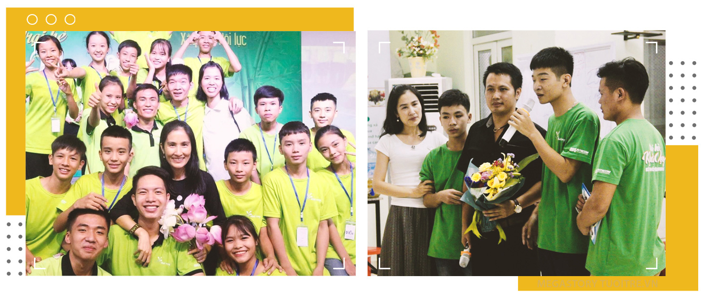 Tran Viet Hoang participates in social events in these file photos. Photos: M.G. - V.K. / Tuoi Tre