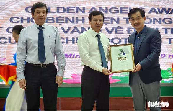 Ho Chi Minh City hospital recognized with WSO's Golden Status