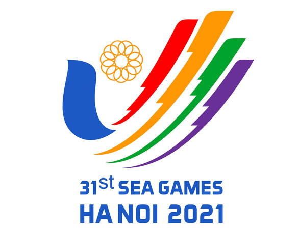 The design of the combined images of a bird and a human hand to create the V shape pending the approval to become the official logo of the 2021 Southeast Asian (SEA) Games to be organized in Vietnam. Photo: Vietnam Sports Administration