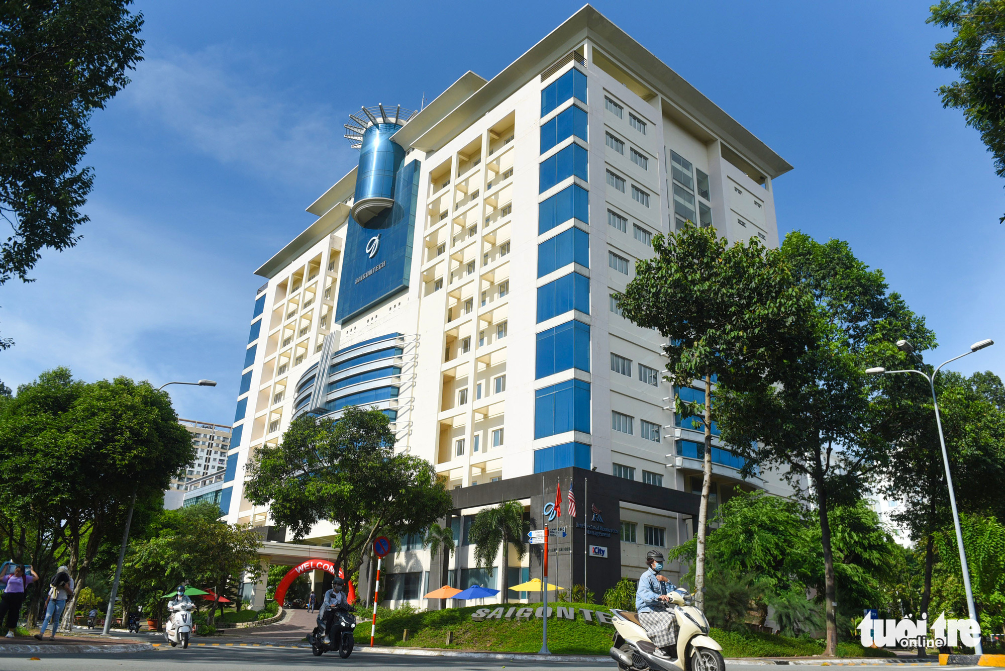 The SaigonTech School in the Quang Trung Software City in District 12, Ho Chi Minh City. Photo: Quang Dinh / Tuoi Tre
