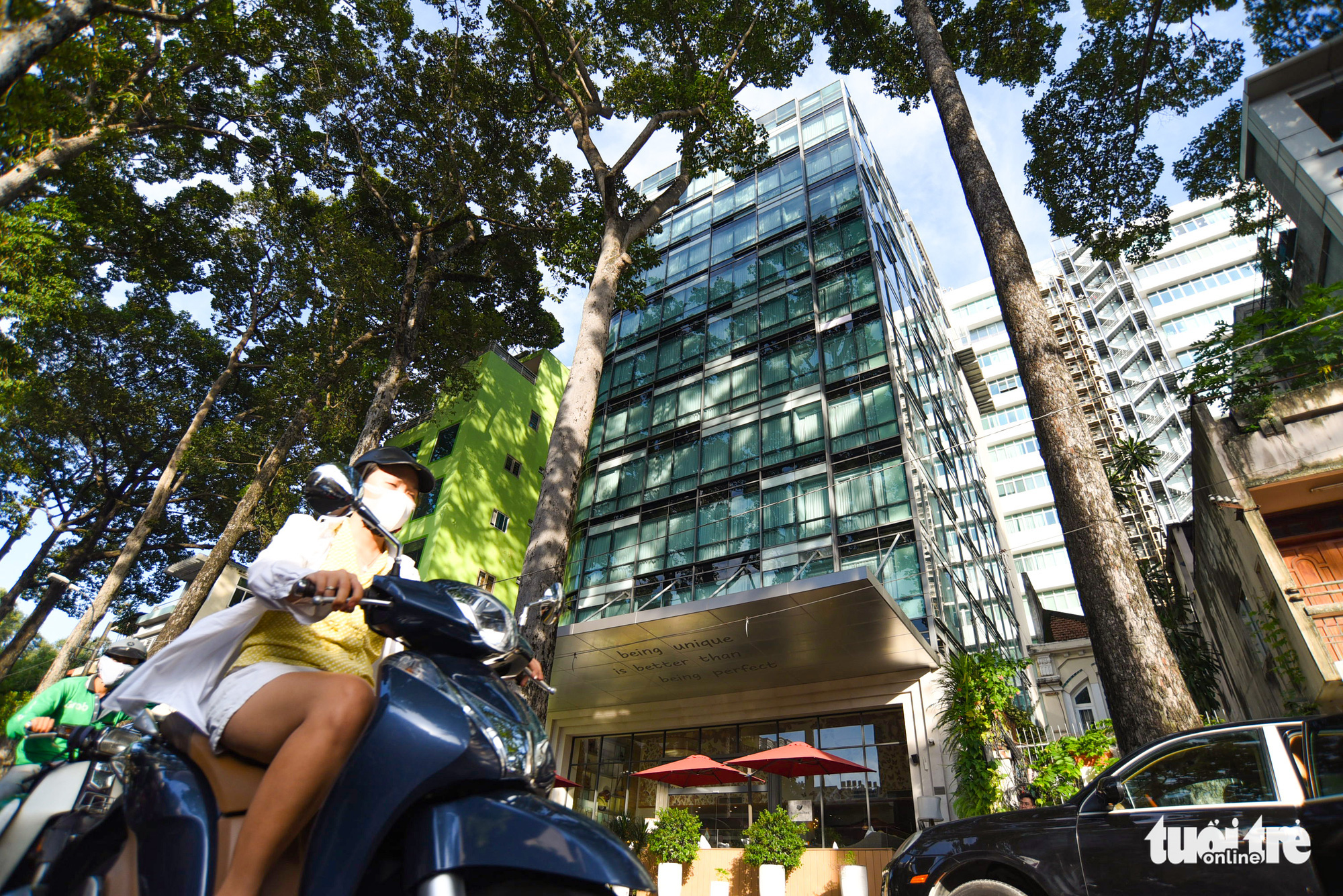 Four-star Fusion Suites Saigon Hotel is being sold at US$50 million in District 1, Ho Chi Minh City. Photo: Quang Dinh / Tuoi Tre