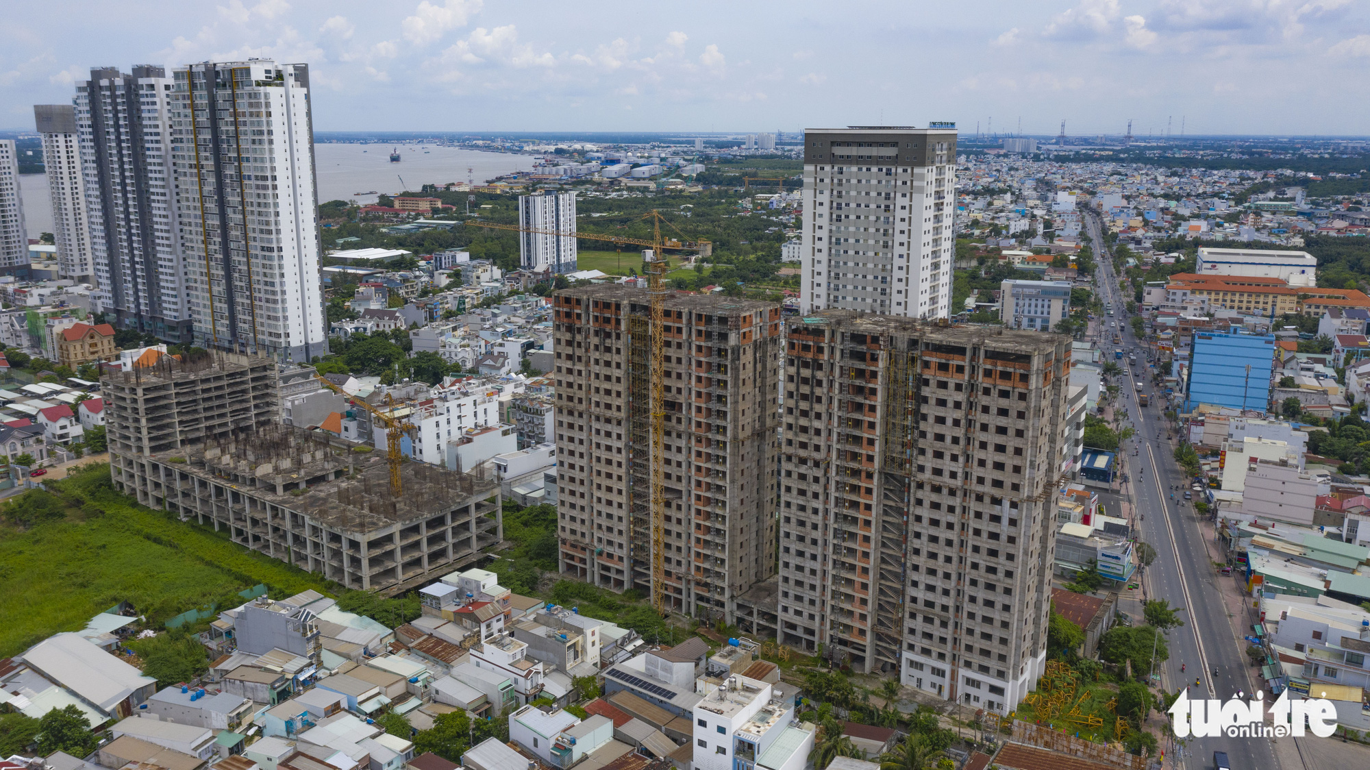 The BMC Hung Long project in District 7, Ho Chi Minh City. Photo: Quang Dinh / Tuoi Tre