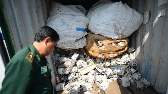 Ho Chi Minh City authorities struggle to deal with toxic scrap backlog