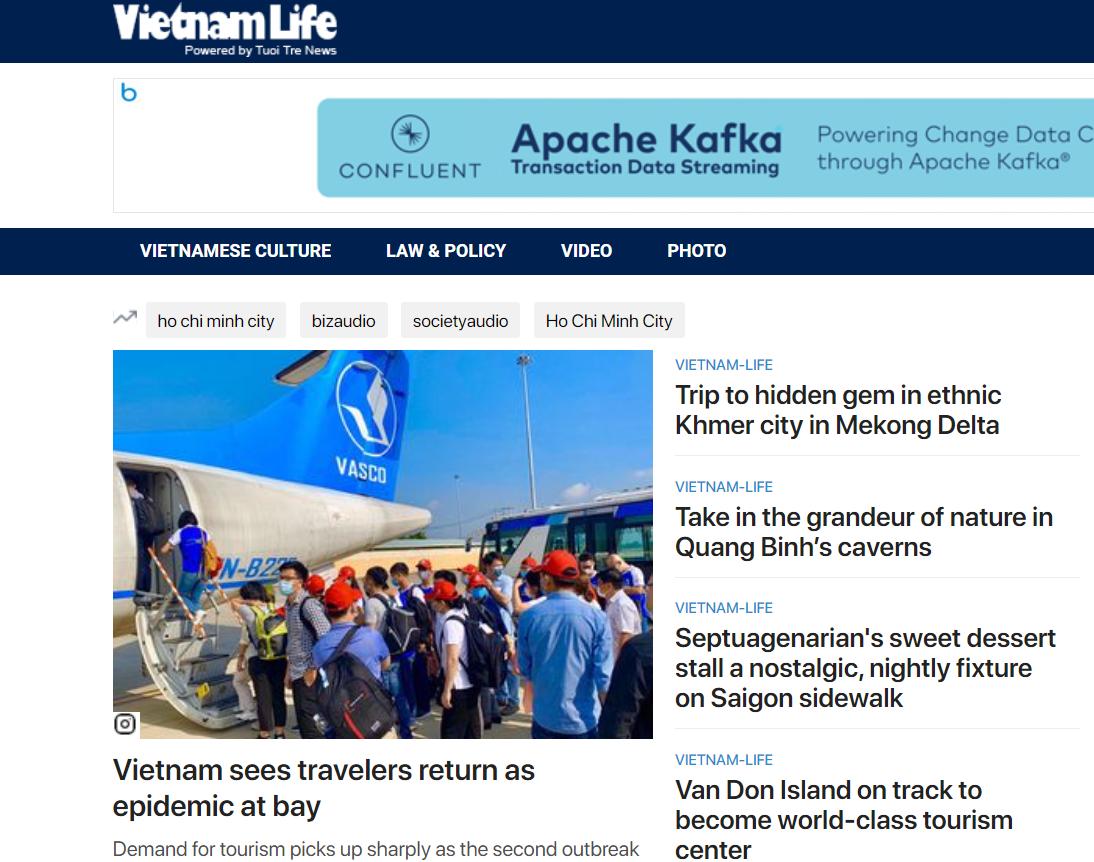 Tuoi Tre News launches Vietnam Life, a page dedicated to culture, cuisine, tourism